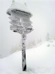 Konečně sníh na horách