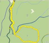 Kozinec - rozcestí - kolem kopce Žďár - psí hřbitov a zpět.