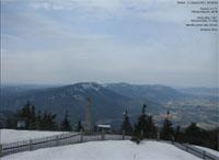První sníh na Lysé hoře
