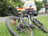 Sedm zraněných cyklistů v Moravskoslezském kraji