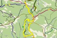 Visalaje, Bílý kříž, Dorotanka, Sulov, Bílý kříž, Visalaje - 15 Km