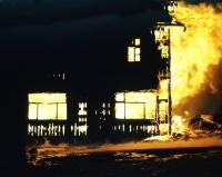 Požár v roce 72, kde vyhořela ubytovna vedle Hradu. Žář byl tak silný, že 100 m vzdálená chata TJ VP se musela ochlazovat hasícími přístroji a kolem oken létaly řeky jisker.