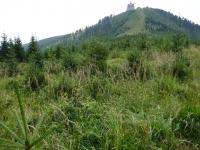 Finalni pohled na vrchol od cache